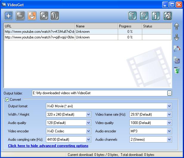 Downloading Video Files